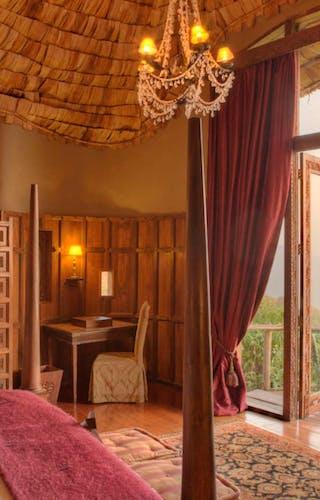 Ngorongoro  Crater  Lodge  Bedroom