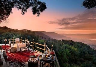 Ngorongoro  Crater  Lodge  Private  Dinner