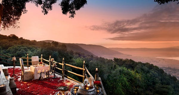 Ngorongoro  Crater  Lodge  Private  Dinner
