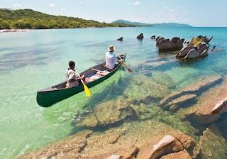Nkwichi Lodge Canoeing On Lake Niassa