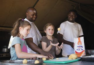Nomad Tanzania Children Getting Their Hands Dirty Activities On A Serengeti Family Safari