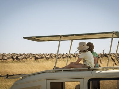 Nomad Tanzania Family Serengeti Safari