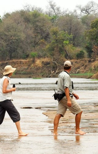North Luanwa Walking Safari