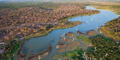Okavango Delta Aeriel View