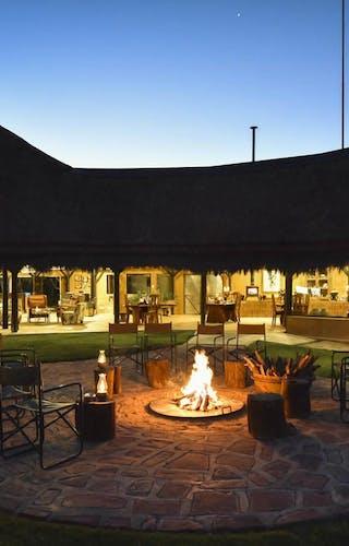 Okonjima Bush Lodge Firepit