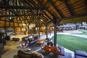 Okonjima Bush Lodge Lounge