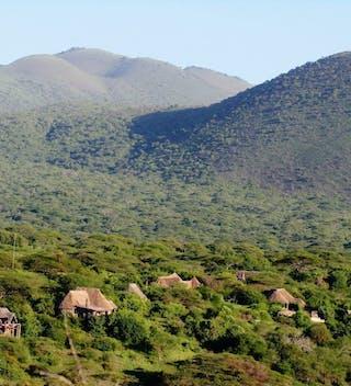 Ol Donyo Lodge Kenya Aerial View
