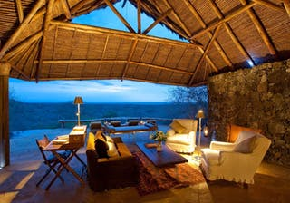 Ol Donyo Lodge Relaxing Area