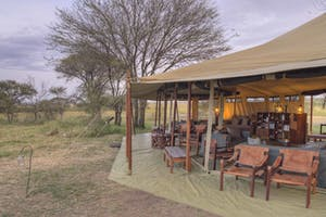 Olakira Migration Camp Lounge