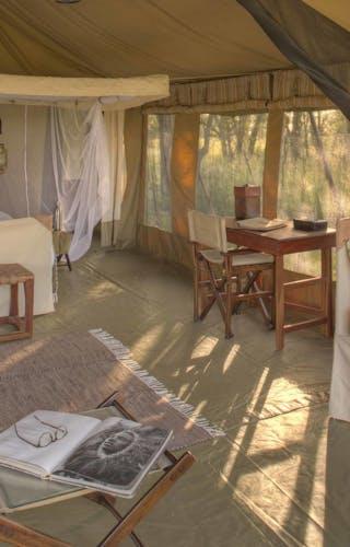 Olakira Migration Camp Bedroom
