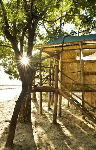 Outside Of A Room Island Bushcamp