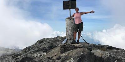 Ruth on Mount Mulanje