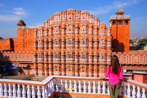 Palace Of  Winds At  Jaipur
