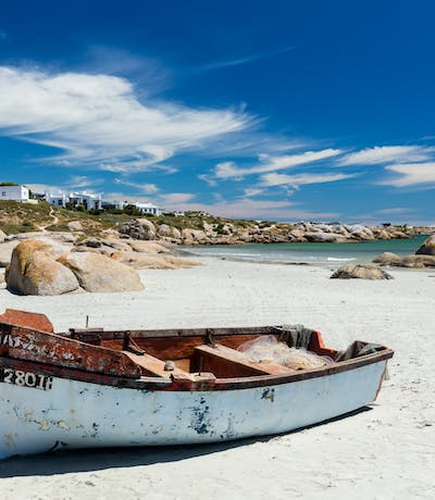 Paternoster Beach In The Western Cape