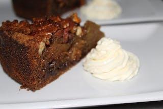 Pecan Pie Best Enjoyed With Cream At Kuthengo