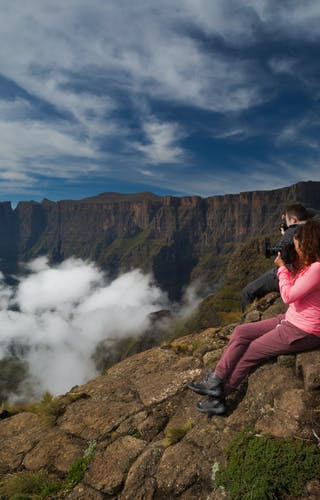 Photographing The Drakensberg Mountains