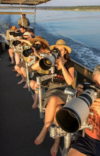Photography Boat Safari At Pangolin Chobe Hotel