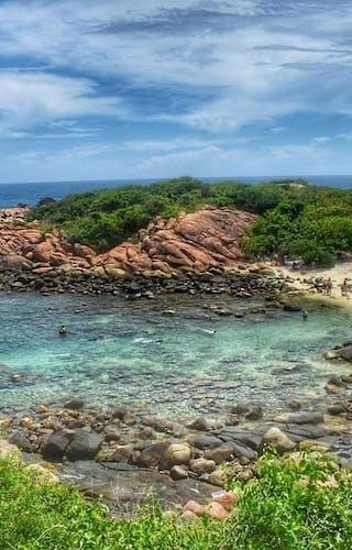 Pigeon Island At Trincomalee