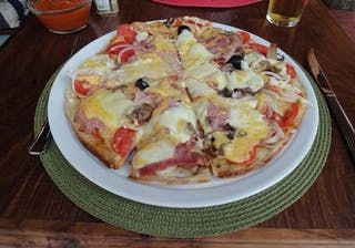 Pizzas At Zombie Cucumber In Vilanculos