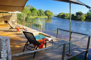 Private Deck Zambezi Sands