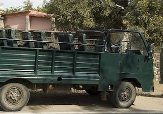 Ranthambore Canter Vehicle