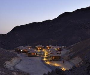 Raz Al Jinz Turtle Reserve Valley