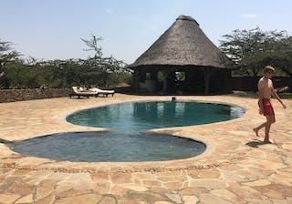 Relaxing By The Pool At El Karama