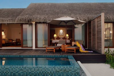 Residence Maldives Beach Pool Villa