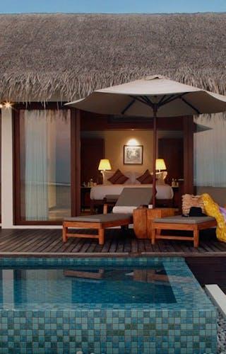 Residence Maldives Beach Pool Villa