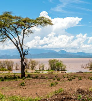 Resized Lake Abaya Near Arba Minch