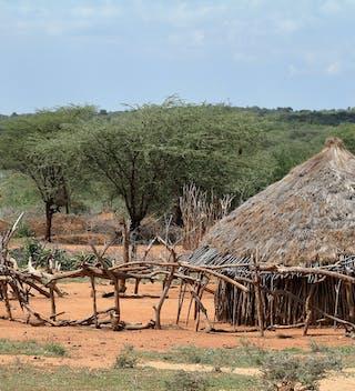 Resized Omo Valley Village In Ethiopia