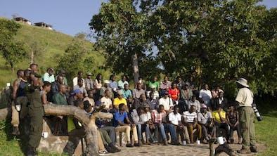Robert Uganda Class Mburo Guiding Course