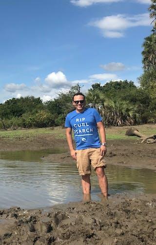 Peter at Roho Ya Selous Tanzania