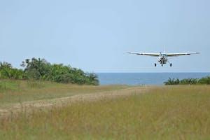 Rubondo Island Landing On The Islands Airstrip