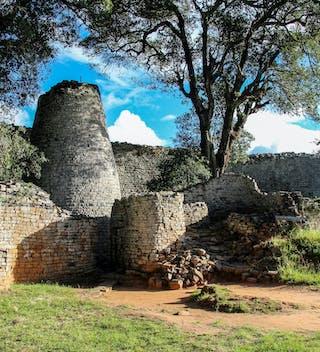 Ruins At Great Zimbabwe