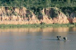 Runde River In Gonarezhou National Park