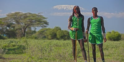 Runners At The Maasai Olympics
