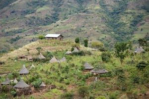 Rural Landscape Near Arba Minch