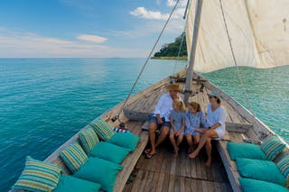 Sailing On Lake Malawi At Pumulani