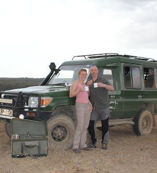 Sam And Nick On Their Wedding Safari In The Masai Mara