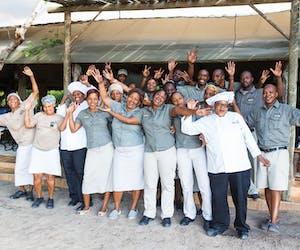Sango Safari Camp Team Pic