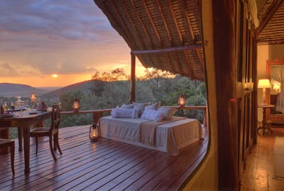 Saruni Mara The Love Shack Honeymoon Suite
