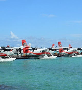 Seaplanes At Male