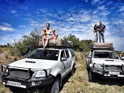 Self Drive Safari Through Northern Botswana With Leo Holding And Family