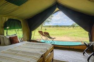 Serengeti  Wilderness  Camp  Bedroom 1