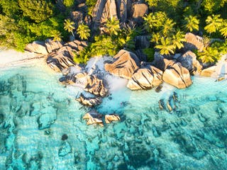 Seychelles Aerial View