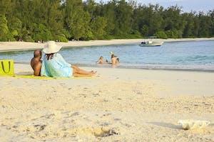 Seychelles Beach Family