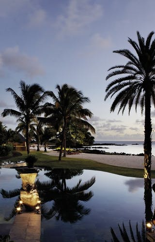 Shanti Maurice Sunset Pool View