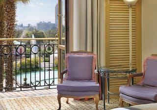 Sheraton Addis Bedroom Balcony