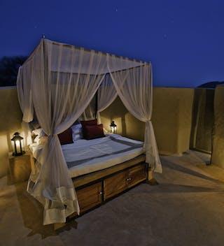 Sleeping Under The Stars At Ol Donyo Lodge